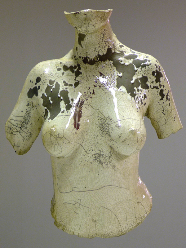 Clara-Black-Skin-buste-malte-lehm-artiste-sculpteur