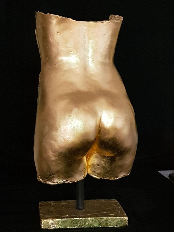 Lena fessier sculpture femme malte lehm